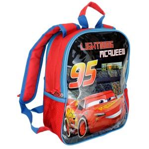 6f169e519a2d4 Dwustronny plecak do przedszkola AUTA - Disney Cars 34x28x12cm
