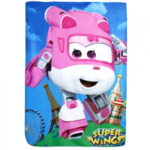 Kocyk polarowy SUPER WINGS 100x140cm