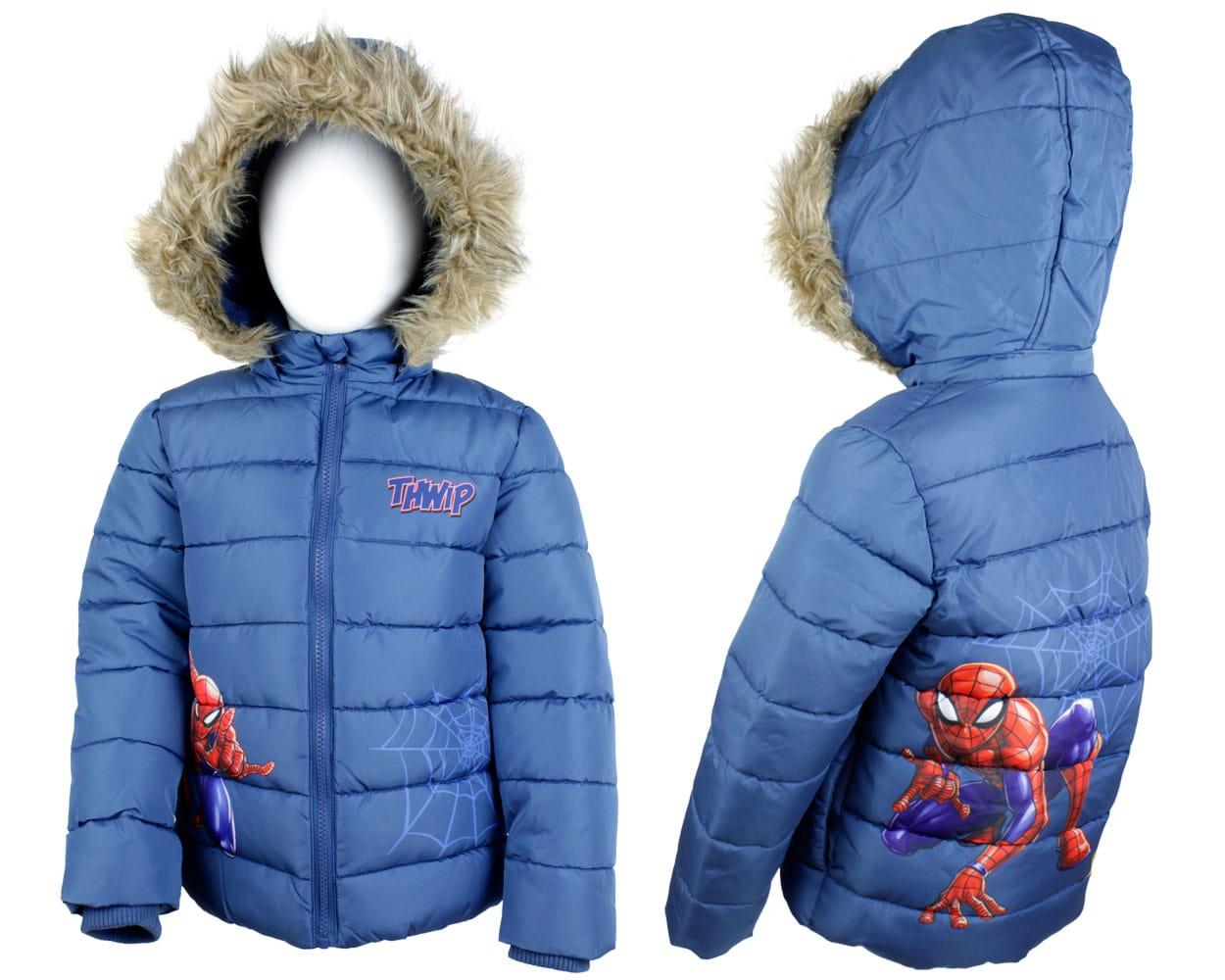 kurtka zimowa chłopięca biedronka